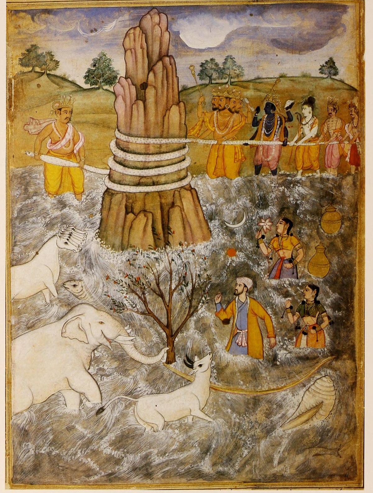Best Indian Girl Wallpaper Samudra Manthan Wikipedia