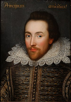 Cobbe portrait, claimed to be a portrait of Wi...