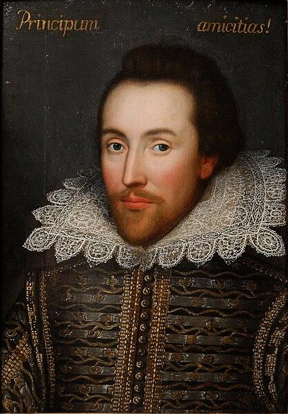Cobbe portrait of Shakespeare