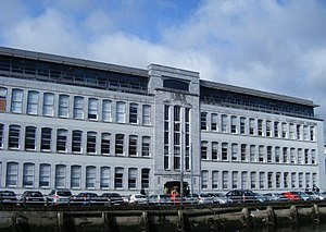 An image of the Cork College of Commerce, a Fu...