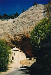Felsenkloster San Juan de la Peña, wo laut Legende der Heilige Gral aufbewahrt wurde