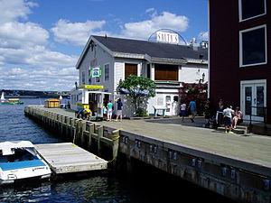 Boardwalk on Halifax waterfront