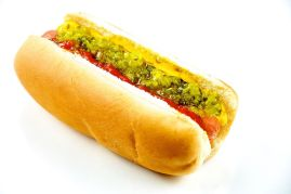 http://en.wikipedia.org/wiki/File:Hotdog_-_Evan_Swigart.jpg