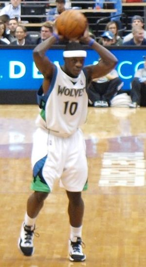 Jonny Flynn of the Minnesota TImberwolves look...