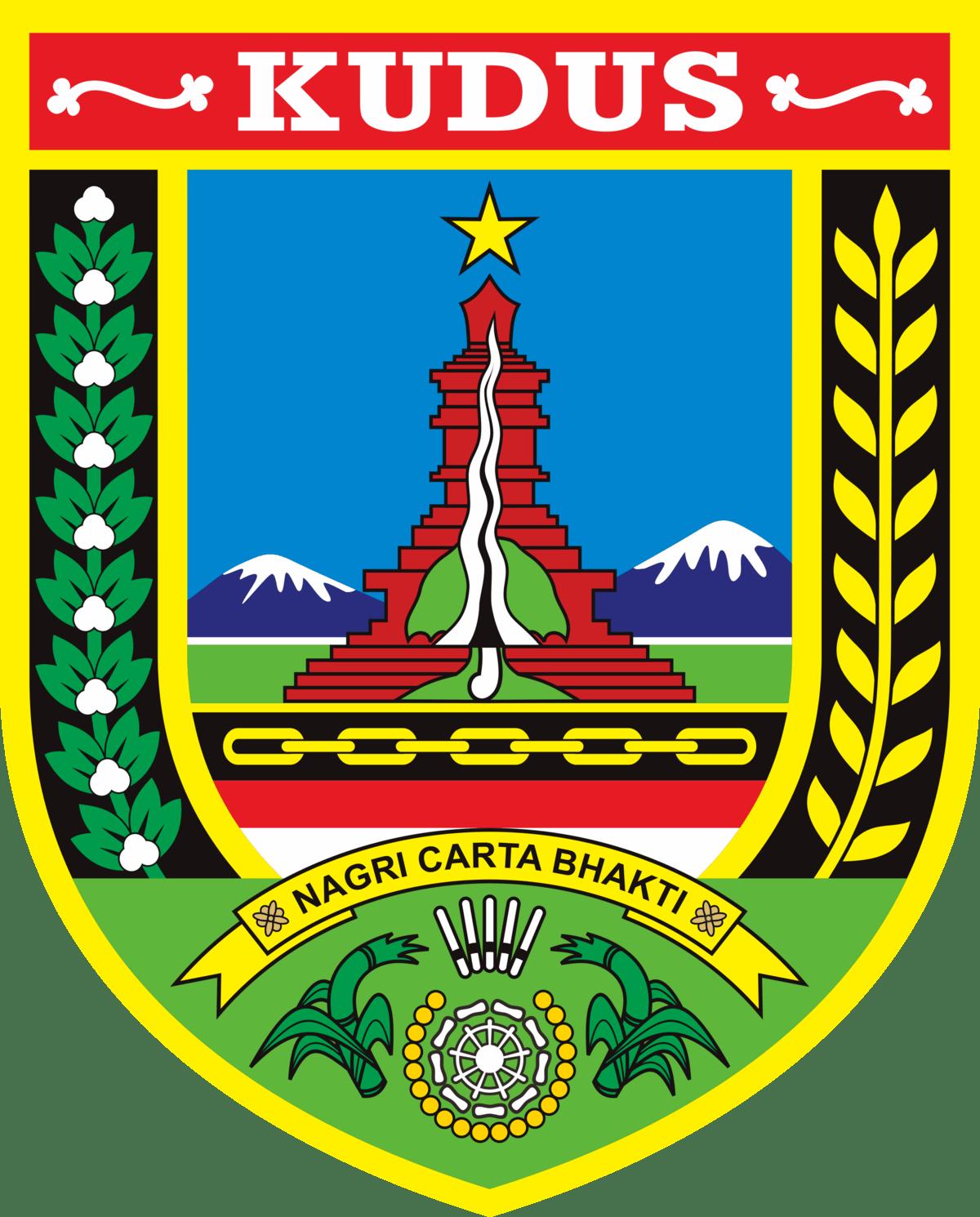 Logo Kabupaten Kudus : kabupaten, kudus, File:Lambang, Kabupaten, Kudus.png, Wikimedia, Commons