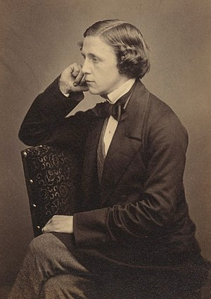 Portrait of Lewis Carroll: This was first publ...