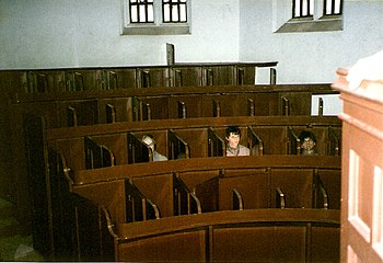 English: Chapel/church at Lincoln Castle prison