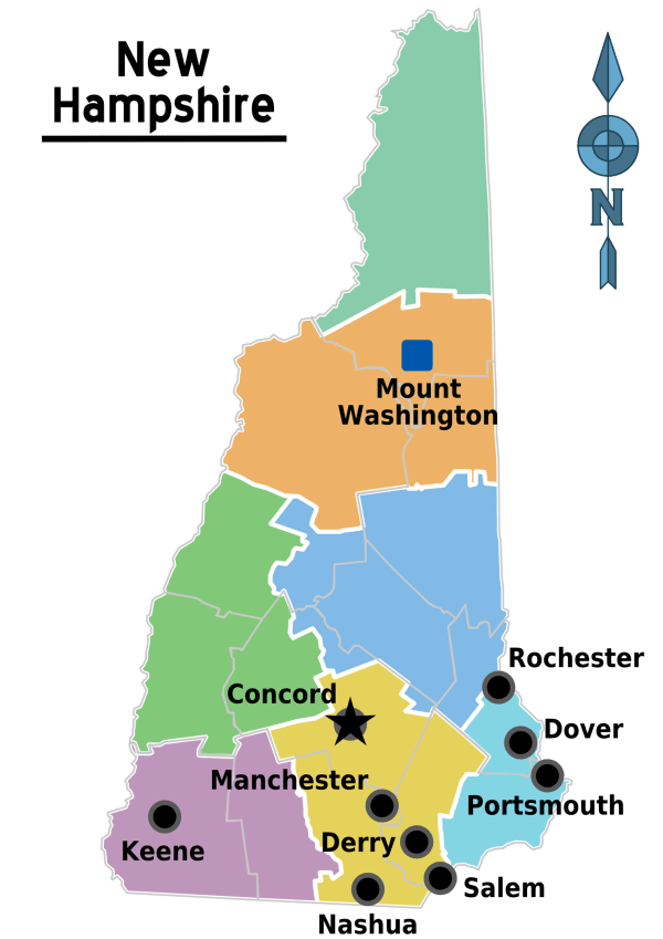New Hampshire Travel guide at Wikivoyage