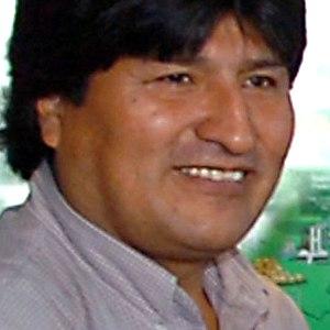Bolivia's president, Evo Morales.