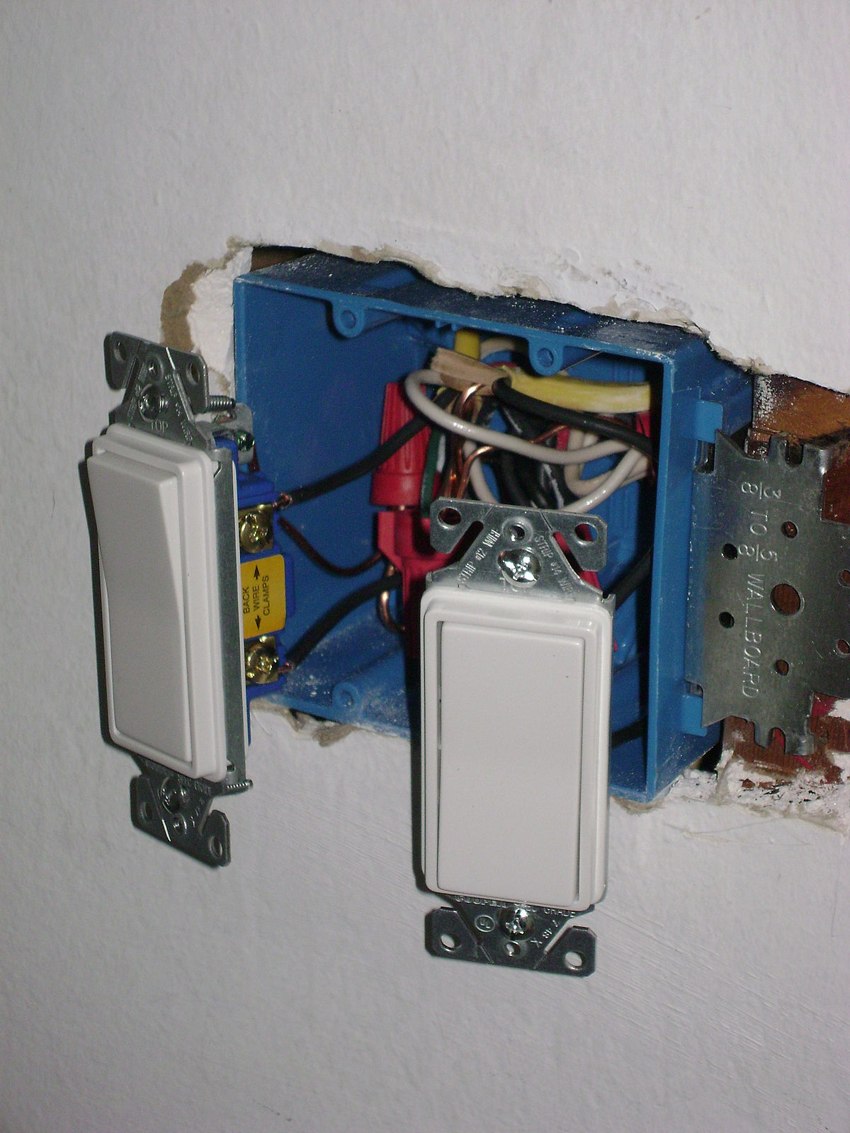 Two Light Switch Wiring Diagram Gang Dimmer Switch Home Two Light