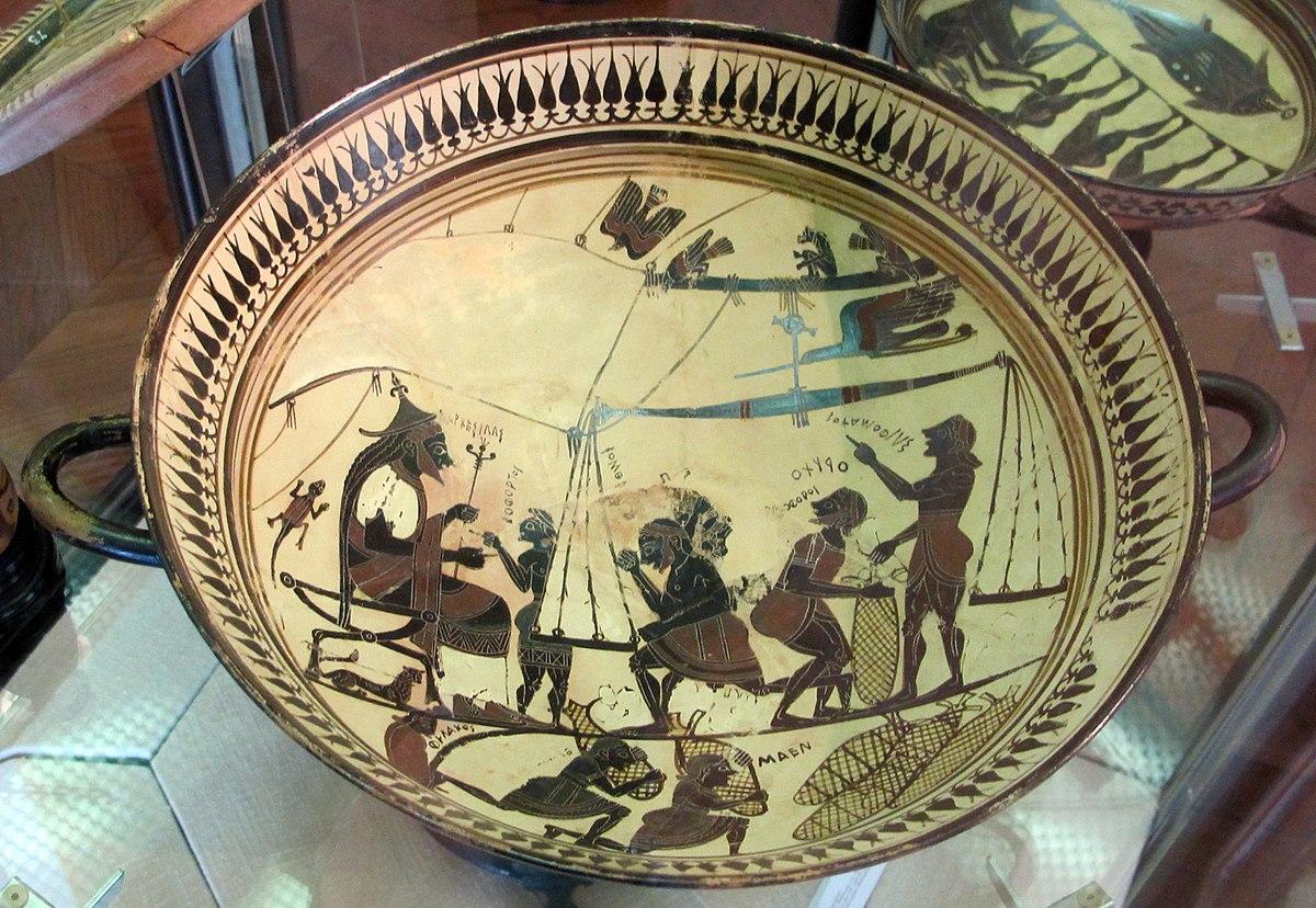 Coppa di Arkesilas  Wikipedia