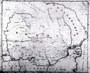Este ce mai veche harta cunoscută în care apar...