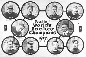 Pic of Seattle Metropolitans. Top : Harry Holm...