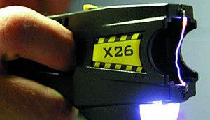300px Taser x26 - Flustered Cop Turns Taser on Syracuse Mom