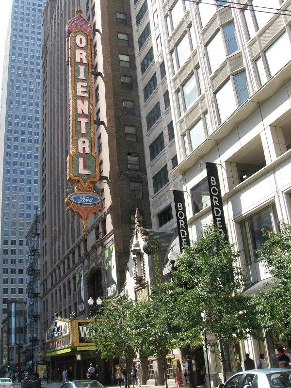 Oriental Theatre Chicago Illinois