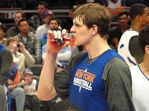 TImofey Mozgov of the New York Knicks.
