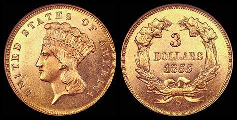 Three Dollar Piece Wikipedia