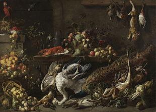 kitchen banquet interior design adriaen van utrecht - wikipedia