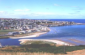 Banff, in north east Scotland, formerly county...