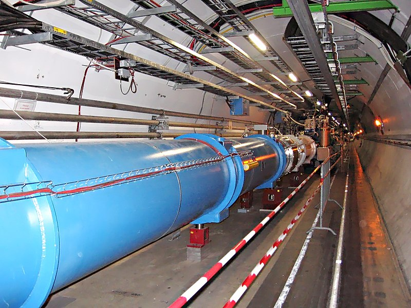 Tunnel LHC - CERN