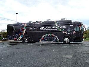 English: Educational Bus of the J. Craig Vente...