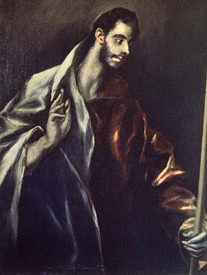 El Greco - Apostle St Thomas - WGA10599