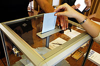 Second round of the French presidential electi...
