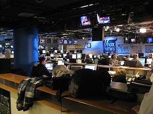 FOX News Channel newsroom
