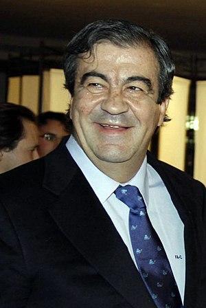 English: Francisco Álvarez-Cascos, Spanish pol...