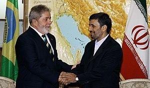 English: President Luiz Inácio Lula da Silva a...