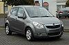 Opel Agila 1.2 ecoFLEX Edition (B) – Frontansicht, 7. April 2011, Velbert.jpg