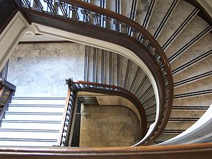English: Oregon Supreme Court Building stairs