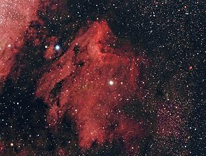 English: Pelican Nebula, NGC 7000