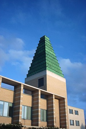 The postmodernist copper ziggurat on the Said ...