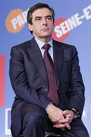 English: François Fillon at the UMP launch ral...