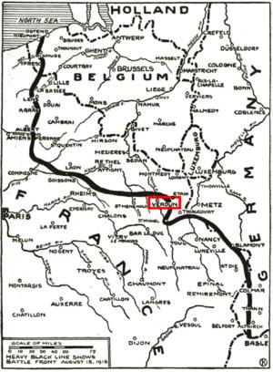 Déroulement De La Bataille De Verdun : déroulement, bataille, verdun, Bataille, Verdun, Vikidia,, L'encyclopédie