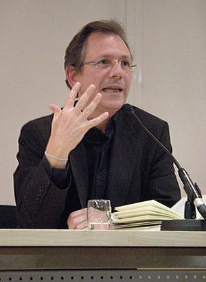 Doron Rabinovici presenting his outspoken nove...