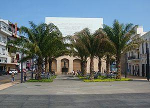Español: Plaza de la Corregidora, en el centro...