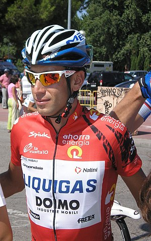 English: Vincenzo Nibali, winner of the 75th V...