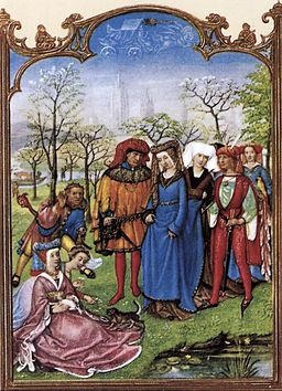 15th-century unknown painters - Grimani Breviary - The Month of April - WGA15778