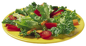 A simple garden salad