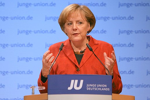 Angela Merkel 2008 Rust