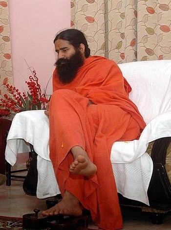 English: Swami Ramdev