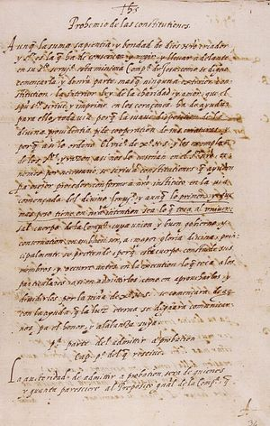 Copy of the original page of the preamble of t...