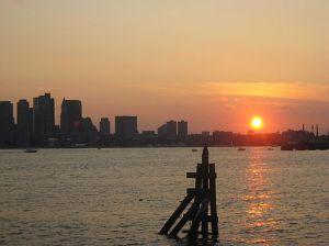 Downtown Boston from Hyatt Boston Harbor 03