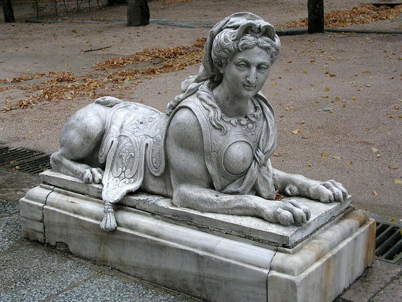 File:La Granja de San Ildefonso Sfinx01.jpg