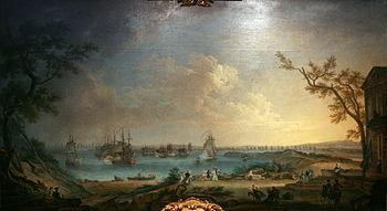 Le Départ de la flotte française pour l'expédi...