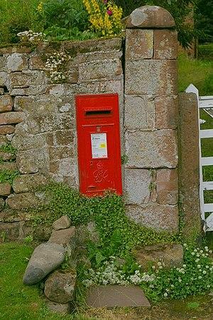 English: Letter box.