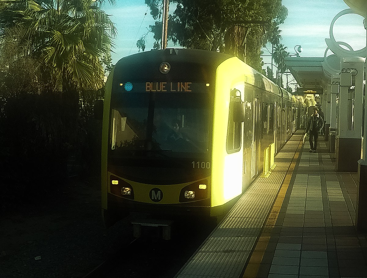 Blue Line Los Angeles Metro Wikipedia