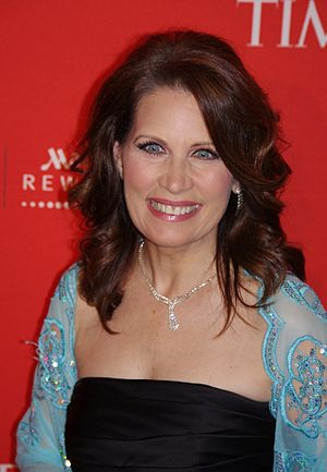English: Michele Bachmann at the 2011 Time 100...